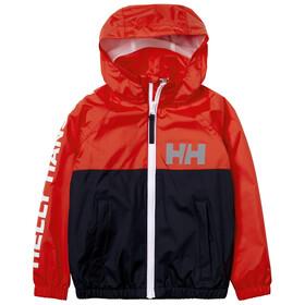 Helly Hansen Active Rain Jacket Kids, navy